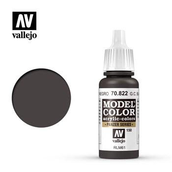 """150.""""Model Color""""  Немецк.защитн.черно-коричн. 822"""