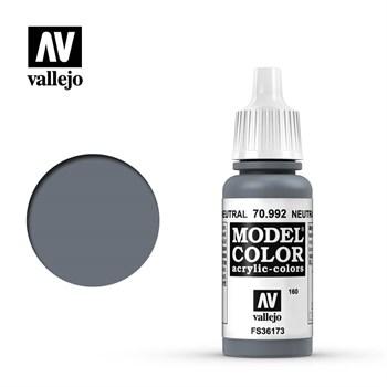 """160.""""Model Color""""  Серый нейтральный.  992 Vallejo"""