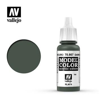 """164.""""Model Color""""  Серо-синий темный.  867 Vallejo"""