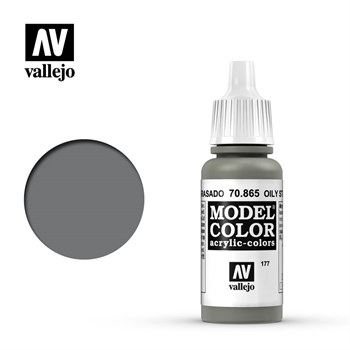 "177.""Model Color""  Замасленная сталь.  865 Vallejo"