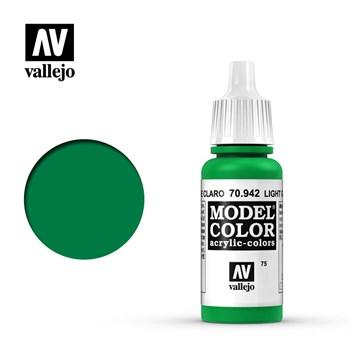 """075.""""Model Color""""  Светло-зеленый.  942"""