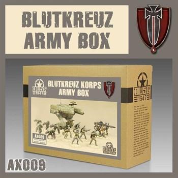 BLUTKREUZ ARMY BOX (собран и загрунтован) Блуткройц Набор Армии