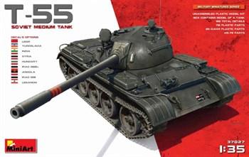 Танк  T-55 Soviet Medium Tank  (1:35)