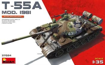 Танк T-55a Mod.1981  (1:35)