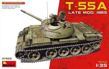 Танк T-55a Late Mod. 1965  (1:35)