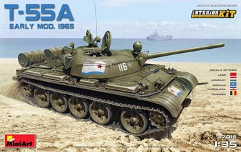 Танк  T-55a Early Mod. 1965 Interior Kit  (1:35)