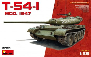 Танк  T-54-1  Mod. 1947  (1:35)