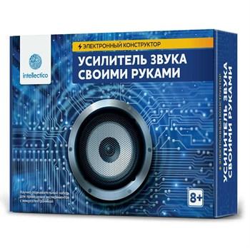 Опыты.Intellectico:Электронный конструктор,Усилитель звука своими руками, арт. 1001