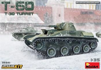 Танк  T-60 T-30 Turret Interior Kit  (1:35)