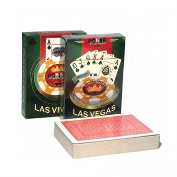 """Карты для покера """"Las Vegas"""" (пластиковое покрытие)"""