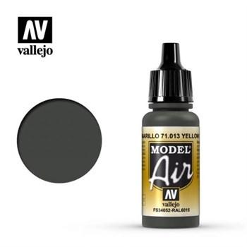 """013.  """"Model Air""""  Желто-зеленый Vallejo"""