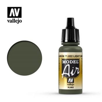 """022.  """"Model Air""""  Комуфляжный зеленый Vallejo"""