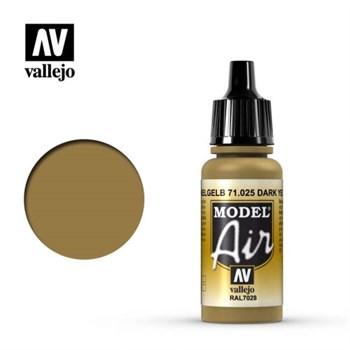 """025.  """"Model Air""""  Желтый темный"""