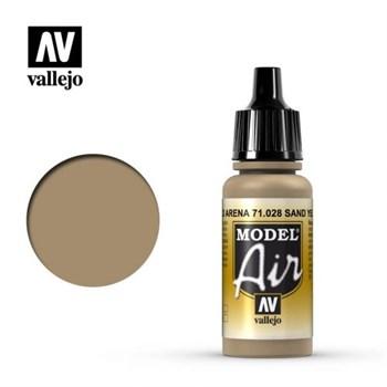 """028.  """"Model Air""""  Желтый песок Vallejo"""