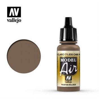"""035.  """"Model Air""""  Комуфляжный коричневый светлый Vallejo"""