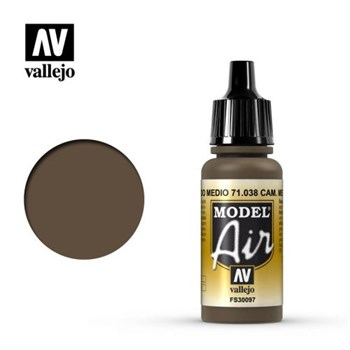 Model Air Camouflage Medium Brown 17 ml.