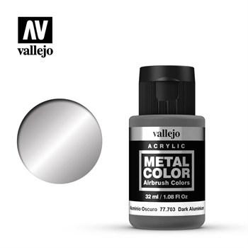 Metal Color Dark Aluminium 32ml. Vallejo