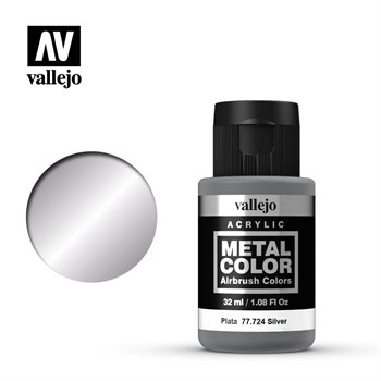 Metal Color Silver 32ml.