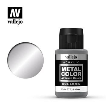 Metal Color Silver 32ml. Vallejo
