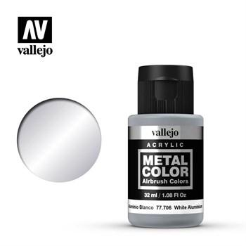 "706.  ""Metal Color""  Белый алюминий Vallejo"