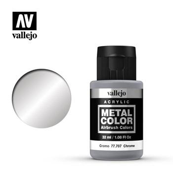 "707.  ""Metal Color""  Хром Vallejo"