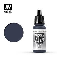 """071.  """"Model Air""""  Artic blue metal"""