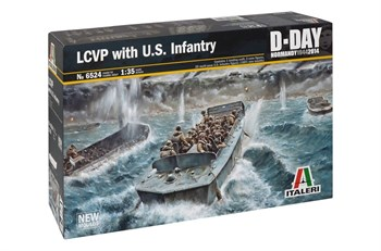 LCVP with U.S. INFANTRY  (1:35)