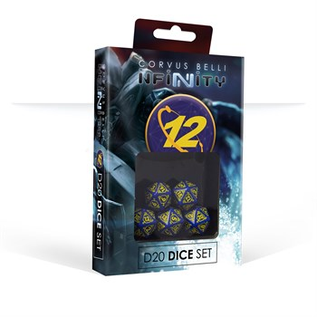 O-12 D20 Dice Set Temporarily Out of Stock (Dice)