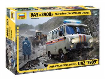 УАЗ «3909» Аварийно-спасательная служба
