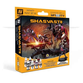 Model Color Set: Infinity Shasvastii Exclusive Miniature (Paint Accessories)