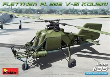 Самолёт  Fl 282 V-21 KOLIBRI  (1:35)