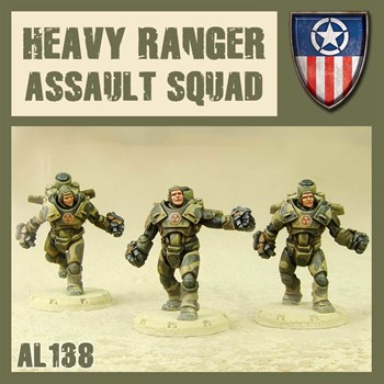 HEAVY RANGERS ASSAULT SQUAD