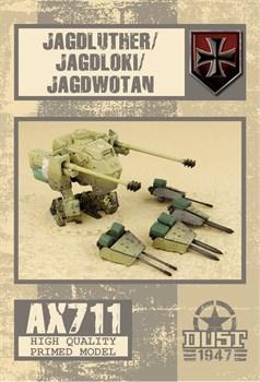 Jagdluther / Jagdwotan / Jagdloki (собран и загрунтован) Ягдлютер / Ягдвотан / Ягдлоки