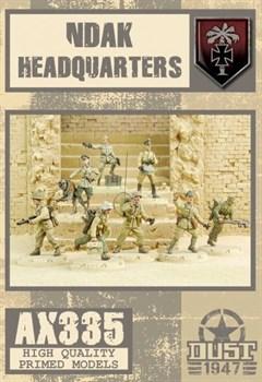 NDAK HEADQUARTERS HQ (собран и загрунтован) Командование НДАК