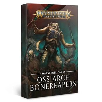 Warscroll Cards: Ossiarch Bonereapers