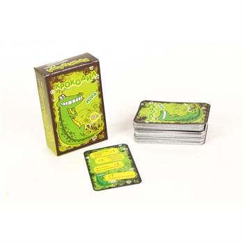 Крокодил, 100 карт для взрослых (на русском)