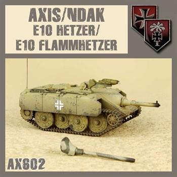 Axis/Ndak E10 Hetzer/Flammhetzer