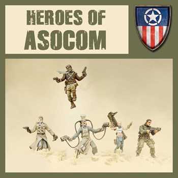 Heroes Of Asocom - Model Kit