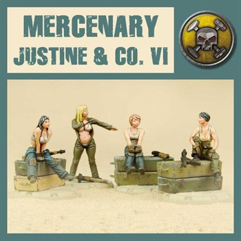 Mercenary Justine & Co Vi - Model Kit
