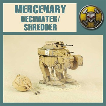 Mercenary Decimater/Shredder - Model Kit