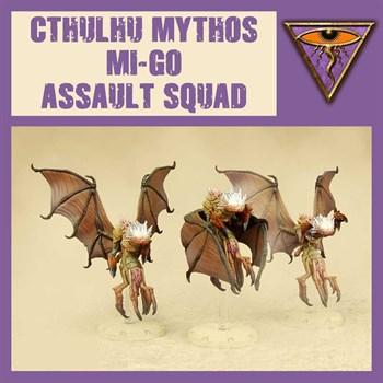 Chtulhu Mythos Mi-Go Assault Squad - Model Kit