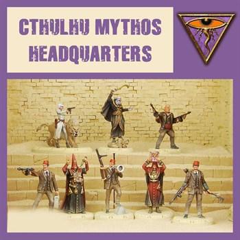 Chtulhu Mythos Headquarters - Model Kit