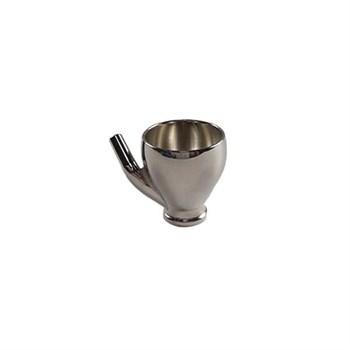 cup 5 ml Hansa 681 with angled plugging pipe for left-handed user / Бачок 5 мл(левая боковая подача) для аэрографа Hansa 681