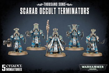 Scarab Occult Terminators Warhammer 40000