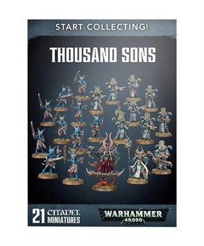 Start Collecting! Thousand Sons Warhammer 40000