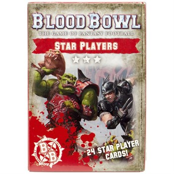 Blood Bowl: Star Players Card Deck (Eng)