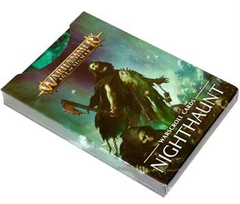 Warscroll Cards: Nighthaunt (eng)