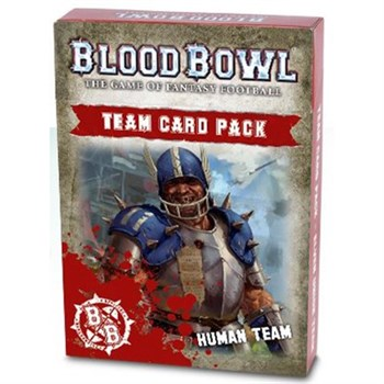 WARHAMMER ACCESSORIES: BLOOD BOWL: HUMAN TEAM CARD PACK (ENG)