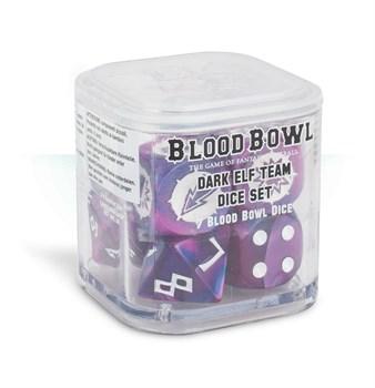 Blood Bowl: Dark Elf Team Dice Set