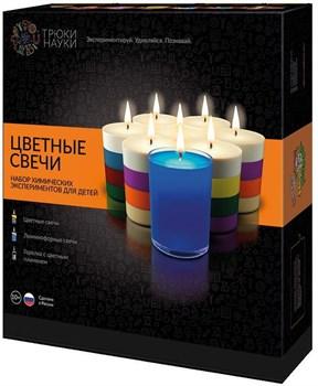 Трюки Науки-Цветные свечи